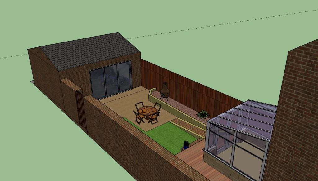rear dream garage plans