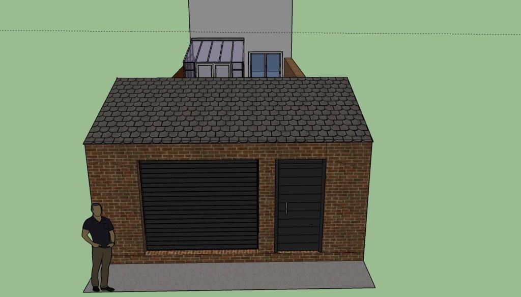 rear of garage plans