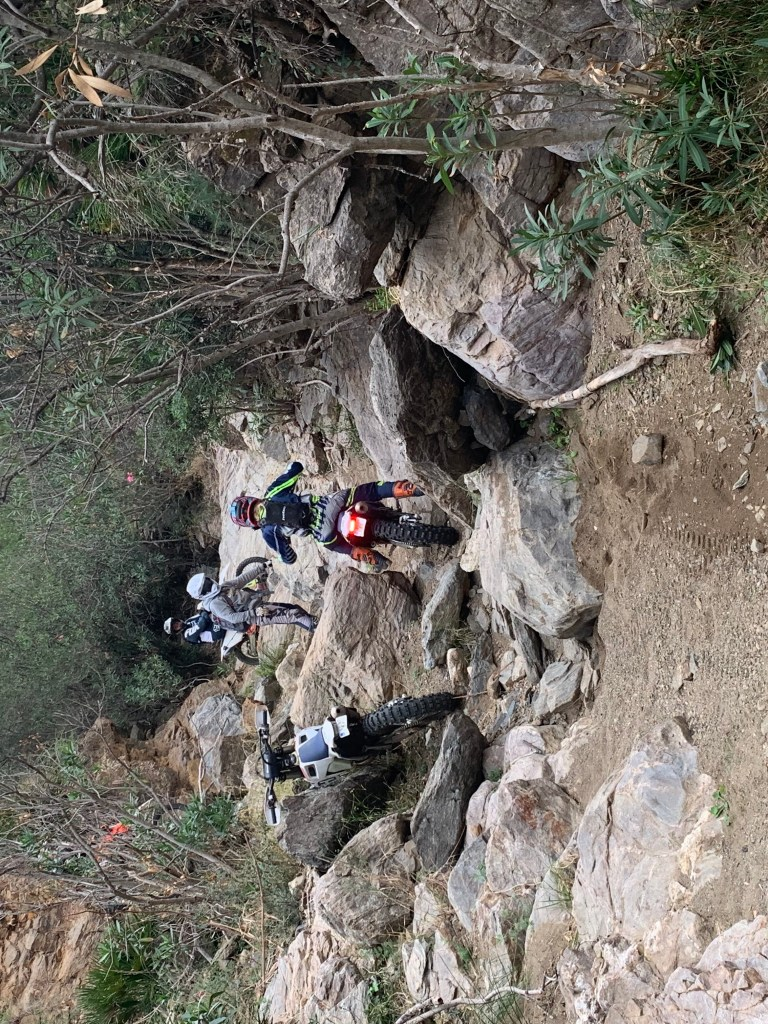 Jarvis Signature hard enduro training