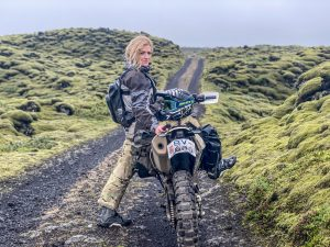 the girl on a bike iceland husqvarna 701 adv ridewithlocals 9