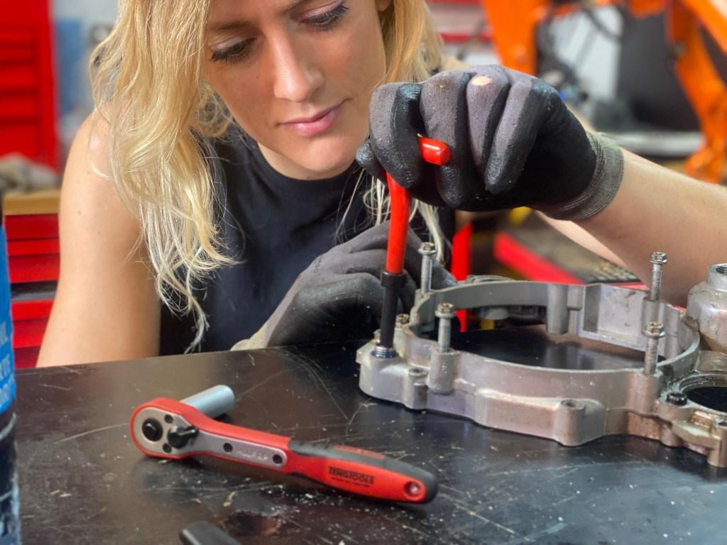 The girl on a Bike top ten tools motorcycle mechanic teng tools