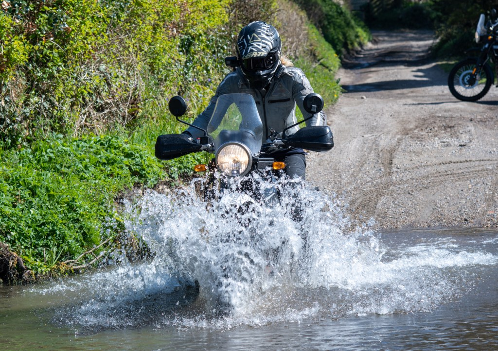 The girl on a bike superior motorcycle experiences dorset royal enfield himalayan 52