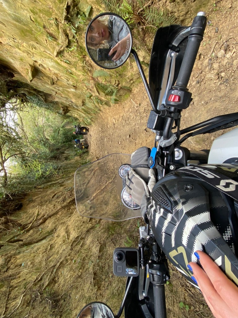 The girl on a bike superior motorcycle experiences dorset royal enfield himalayan 9