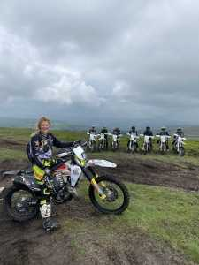 The Girl On A Bike with Jarvis Signature Tours Wales 2