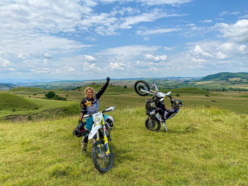 the girl on a bike jarvis signature tours romania romaniacs training 20