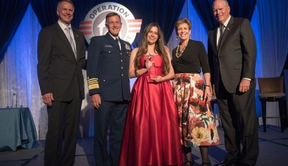 April is the Month of the Military Child. Mary Kate Cooper is the US Coast Guard & Overall Military Child of the Year - 2017
