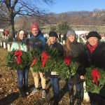 The Girls of Real Estate Joined Wreaths Across America to Remember America's Veteran's