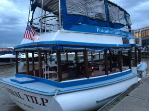 Potomac River Cruise's Admiral Tip