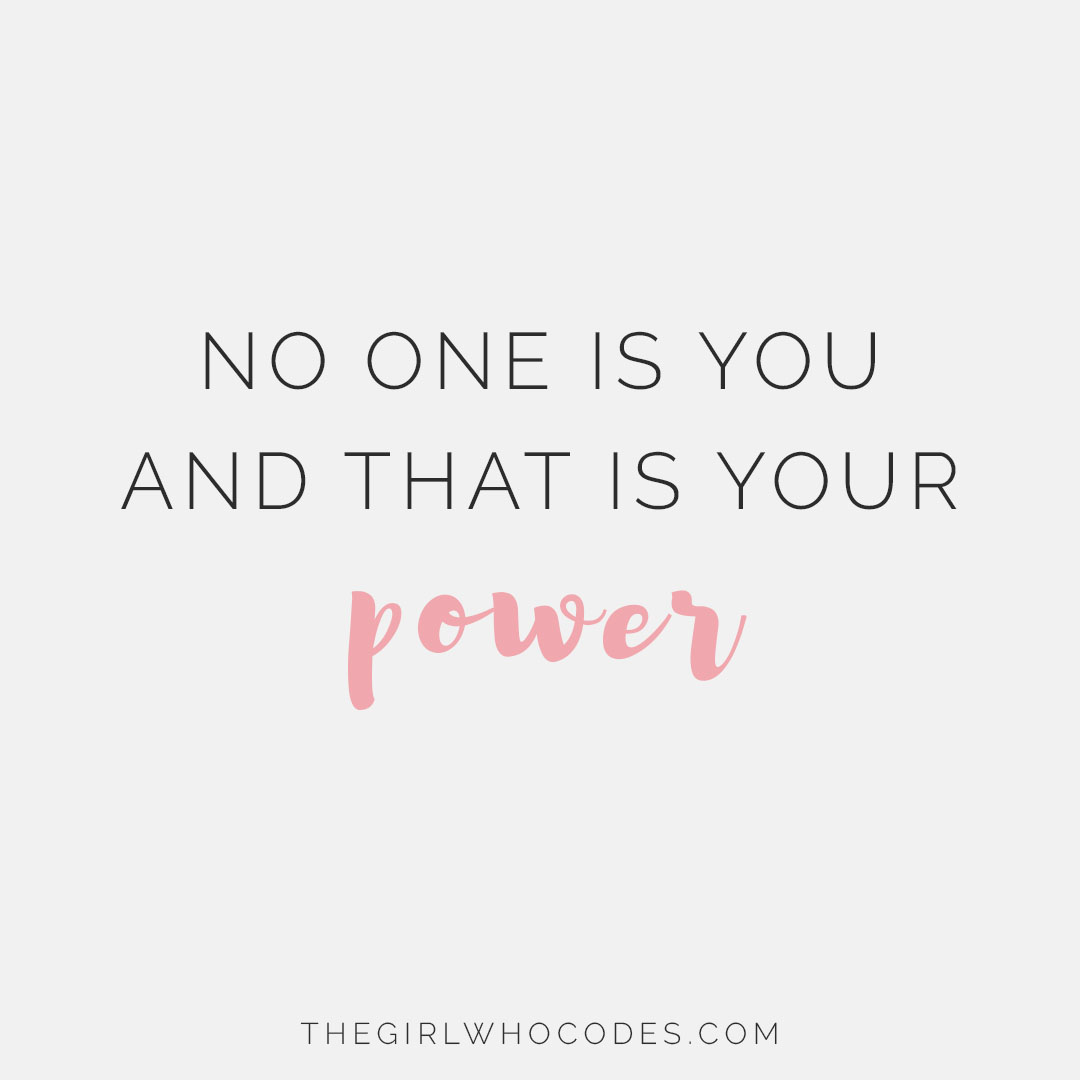 Girl Power Quotes 7 Inspirational Quotes For When You're In A Rut  The Girl Who Codes
