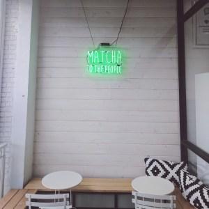 Matcha Bar - Silver Lake