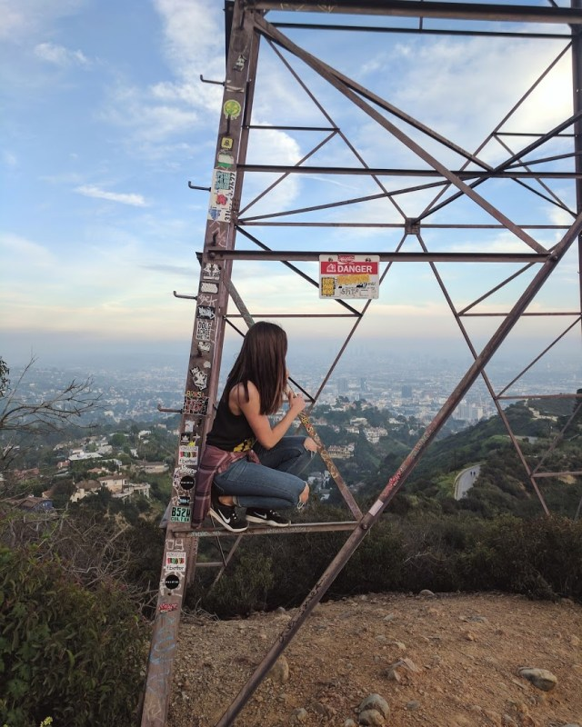 Hiking in LA - Runyon Canyon