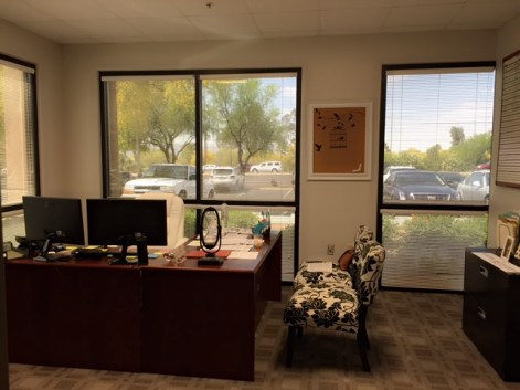 New office is coming together nicely.