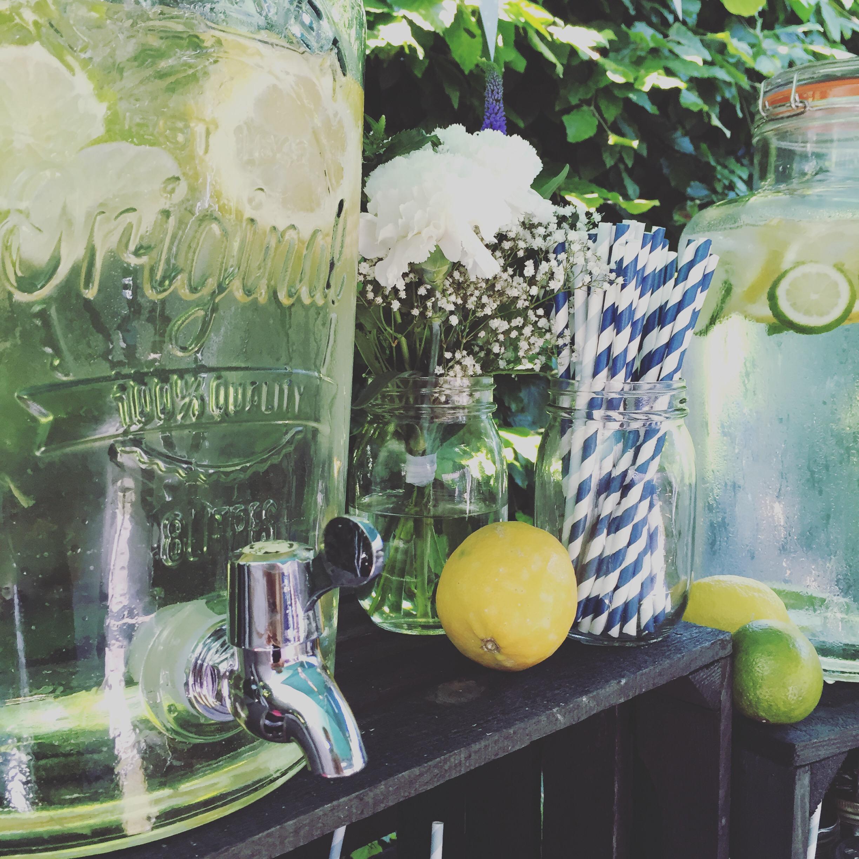 Drinksopskrifter i litermål til dispensere og bowler