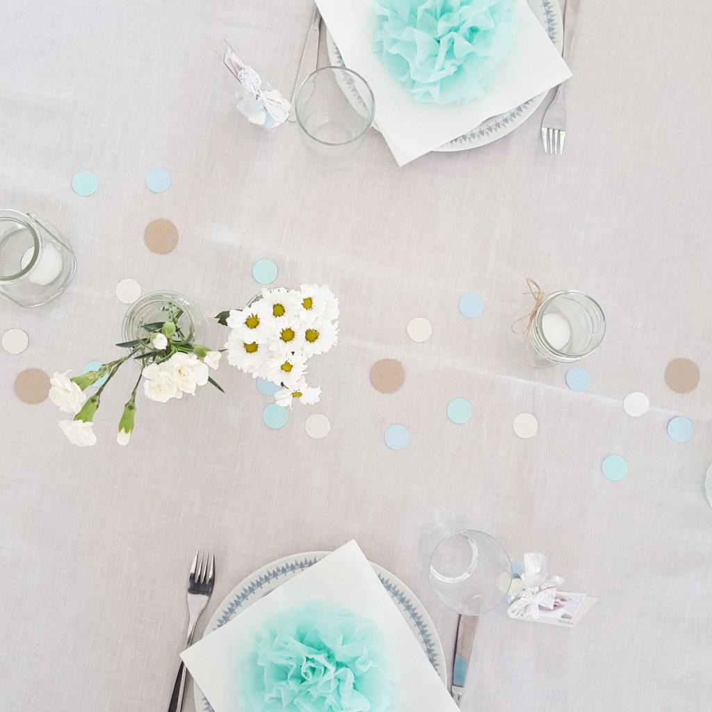 bordpynt til barnedåb