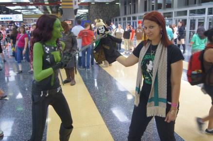 with Gamora and Puppet Loki)