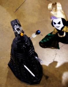Puppet Loki meets the Dalek