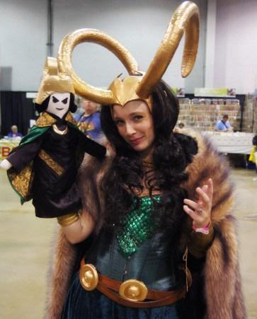 Puppet Loki and Lady Loki