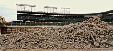 Wrigley Field Demolition - 02
