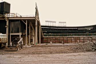 Wrigley Field Demolition - 03