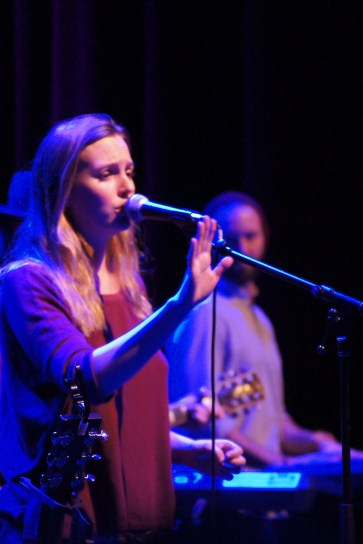 Leighton Meester at the Park West in Chicago.