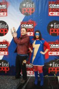 Starlord (Brett Koppen) and Ms. Marvel (me!) arriving at C2E2!