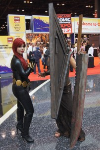 Black Widow and Silent HIll Axeman