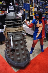 Ms. Marvel vs. Dalek