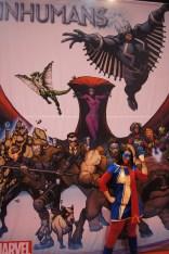 Inhumans with Ms. Marvel (Kamala Khan)