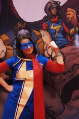 Kamala Khan a.k.a. Ms. Marvel