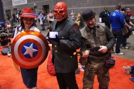 Peggy Carter, The Red Skull and Hwling Commando