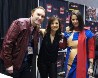with Ming Na Wen