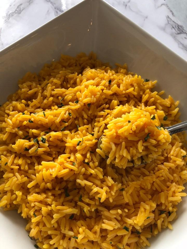 Perfect Yellow Rice