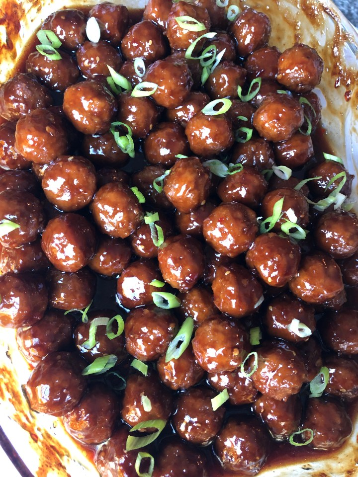 Asian Sweet N Spicy Meatballs