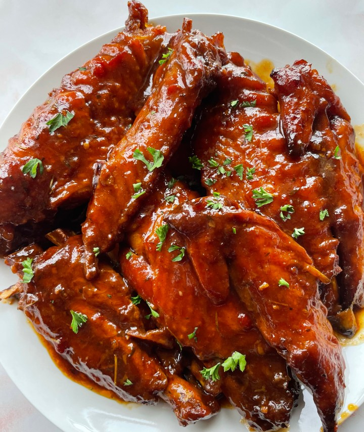 Oven Bag BBQ Turkey Wings