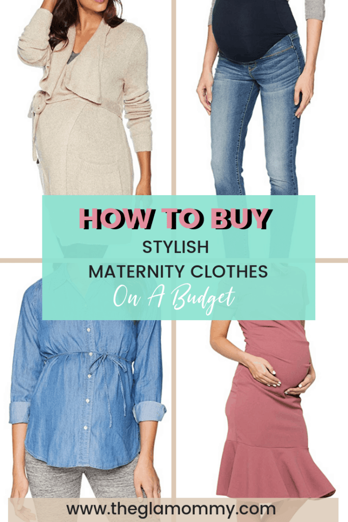 stylish maternity clothes on a budget
