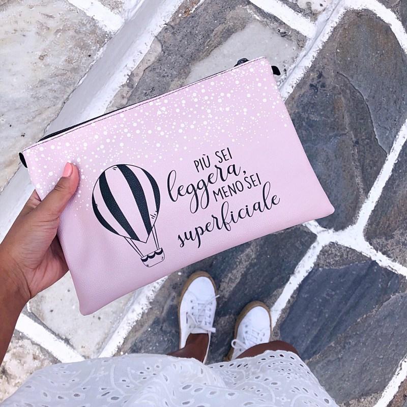 borsa personalizzata con disegno