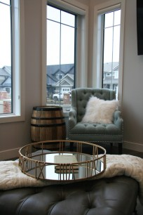 great room- accent chair