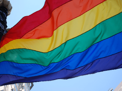 LGBT flag featured