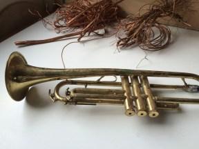 junk yard trumpet