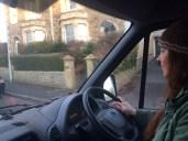 Helga drives to Bristol