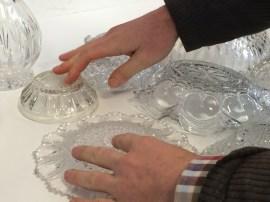 Luke's pressed glass bowls