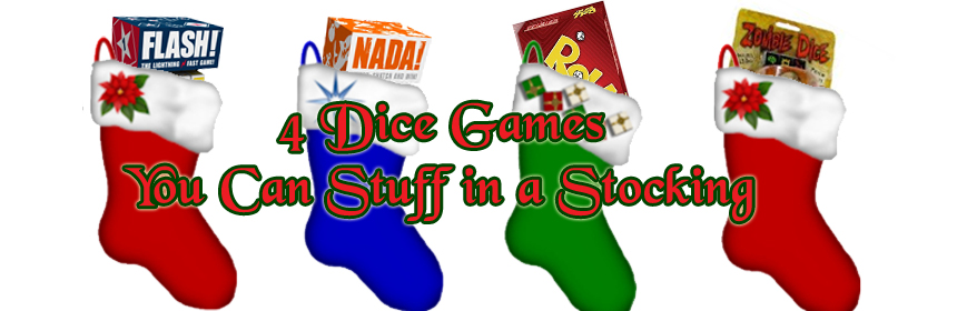 4 Dice Games You Can Stuff In A Stocking