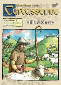 Carcassonne: Hills & Sheep expansion