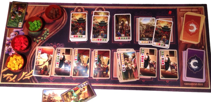 Century Spice Road with playmat