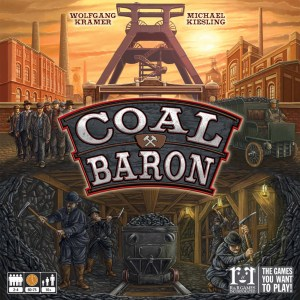Coal Baron worker-placement board game