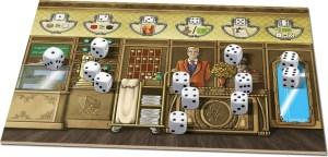 Grand Austria Hotel - dice action board
