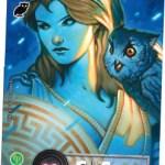 Elysium - sample promo card - Athena Family