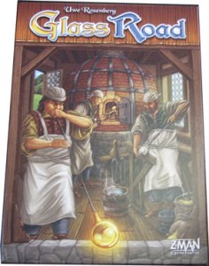 Glass Road board game