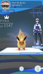 Gym leader - blue Mystic