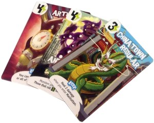 sample Power Cards from King of New York
